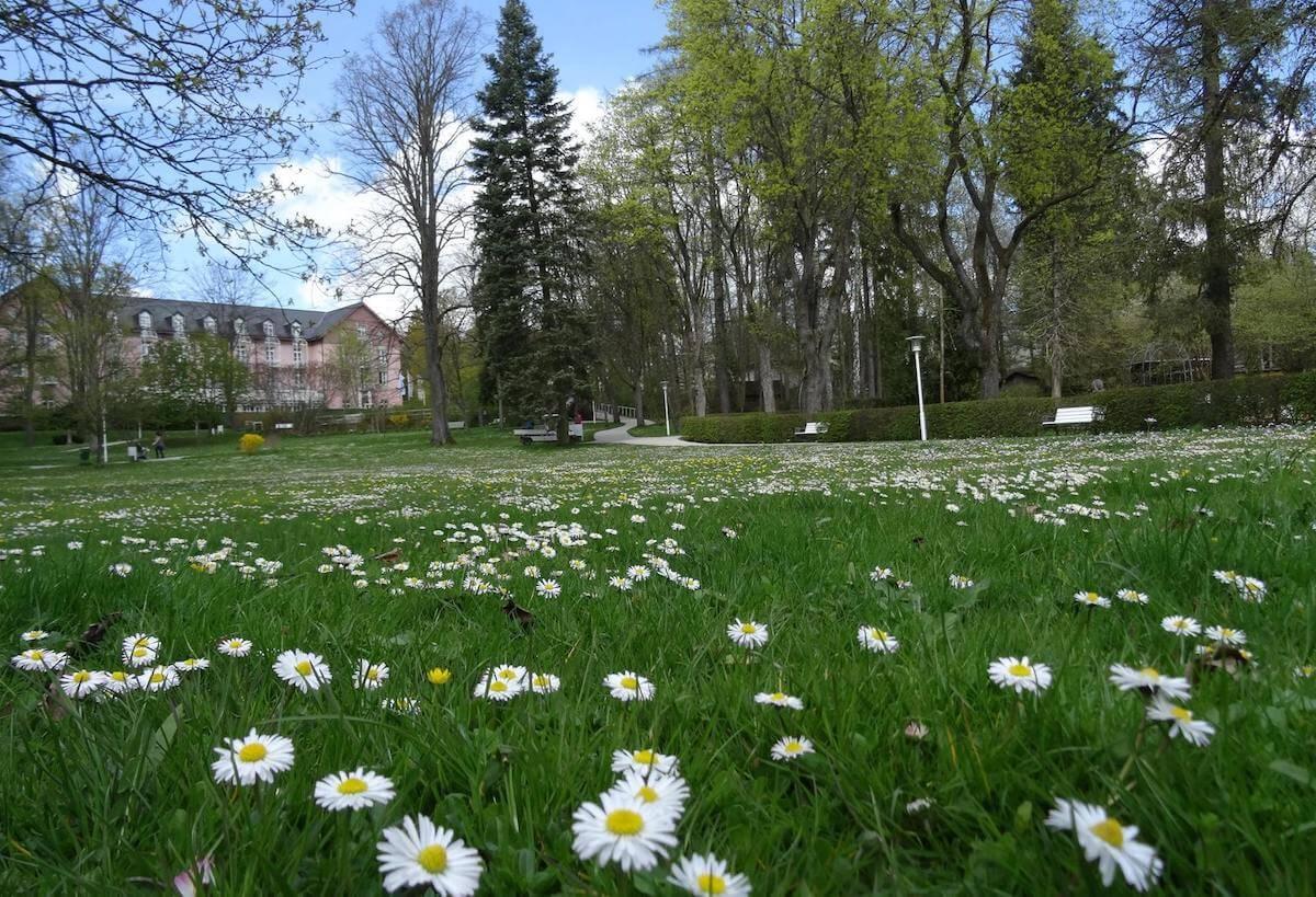 Gezondheidsvakanties in het Beierse spa resort Bad Steben