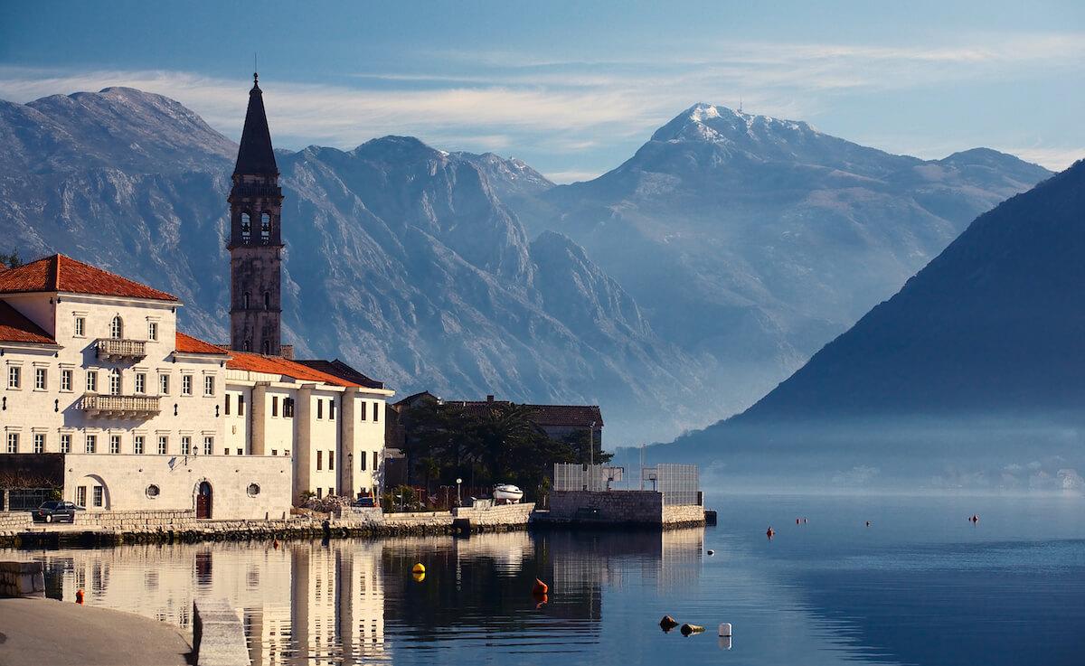 Gezondheidsvakanties in kuuroord Igalo in het adembenemend mooie Montenegro