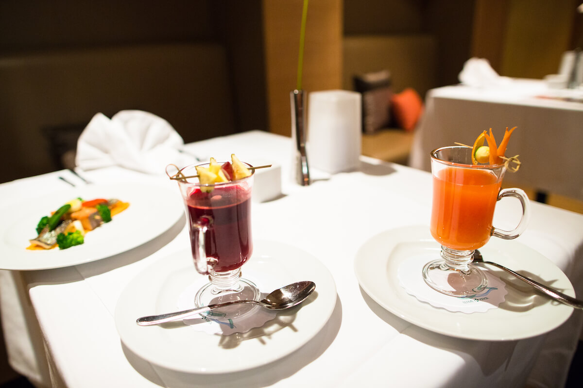 Dieetmaaltijden in het Sloveense spa resort Terme Smarjeske Toplice voor afvallen, detoxen, extra spiermassa en ontstressen