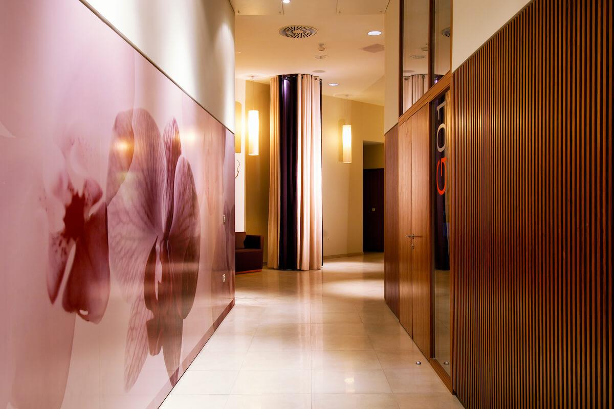 Vitarium Spa & Clinique: behandel en wellness centrum in het Sloveense spa resort Terme Samrjeske Toplice.