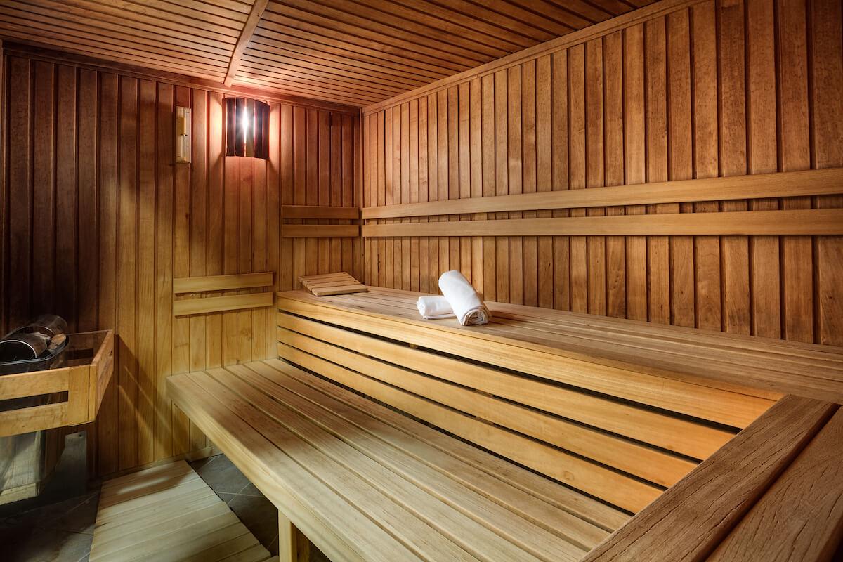 Finse sauna in Hvezda Health Spa Resort