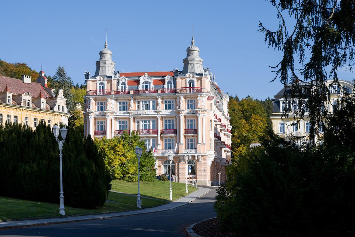 Gezondheidsvakanties in het Tsjechische Hvezda Health Spa Resort in kuuroord Marianske Lazne (Mariënbad)