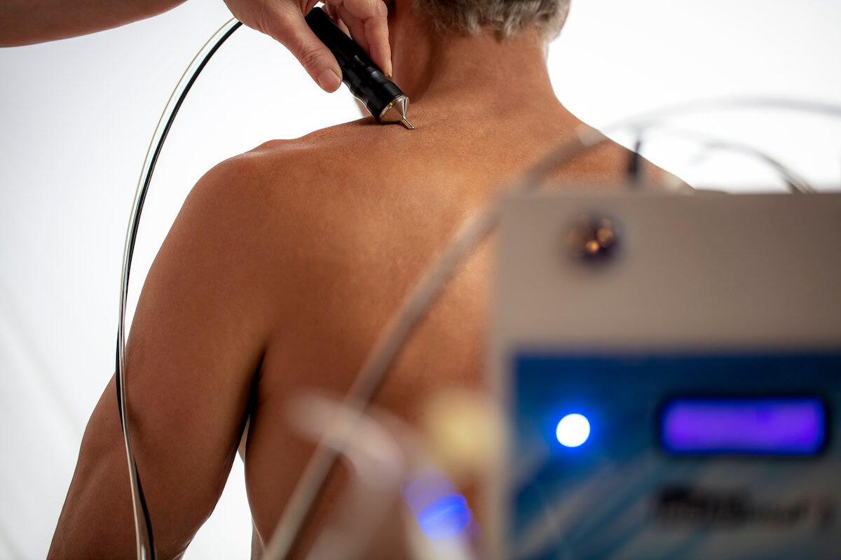 CO2 injectie in Hvezda Health Spa Resort voor verlichting van spier- en gewrichtsklachten