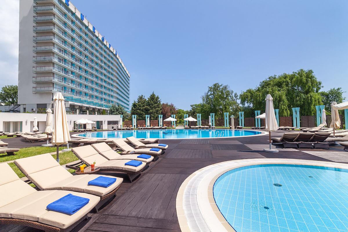 Kuurreizen naar het Roemeense Ana Hotels Europa aan de Zwarte Zee
