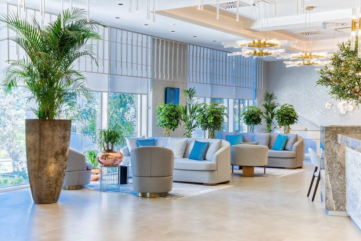 Lobby Blue Kotor Bay Spa Resort