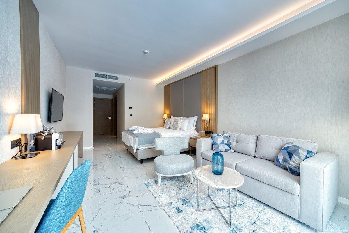 Deluxe kamer in Blue Kotor Bay Spa Resort