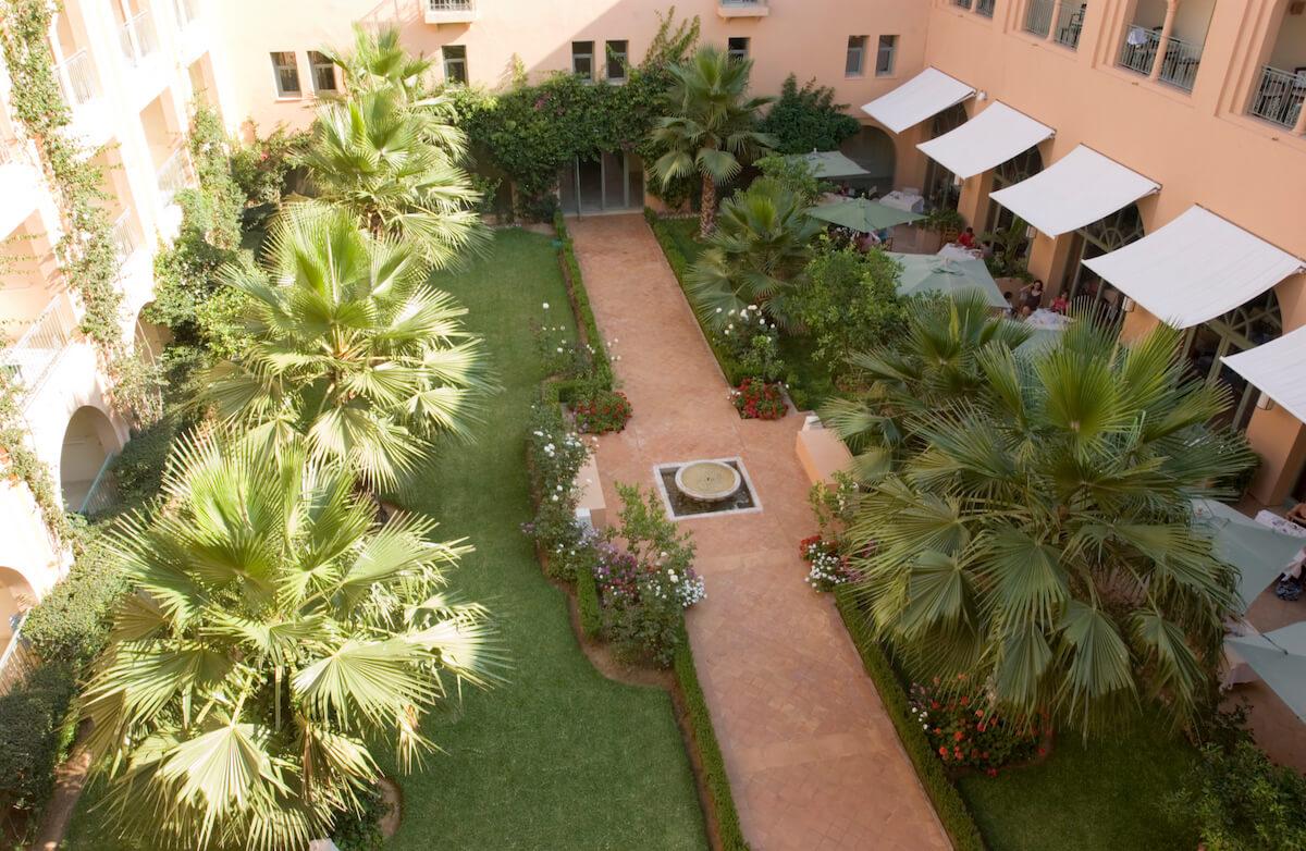 Binnentuin Alhambra Thalasso Spa Resort