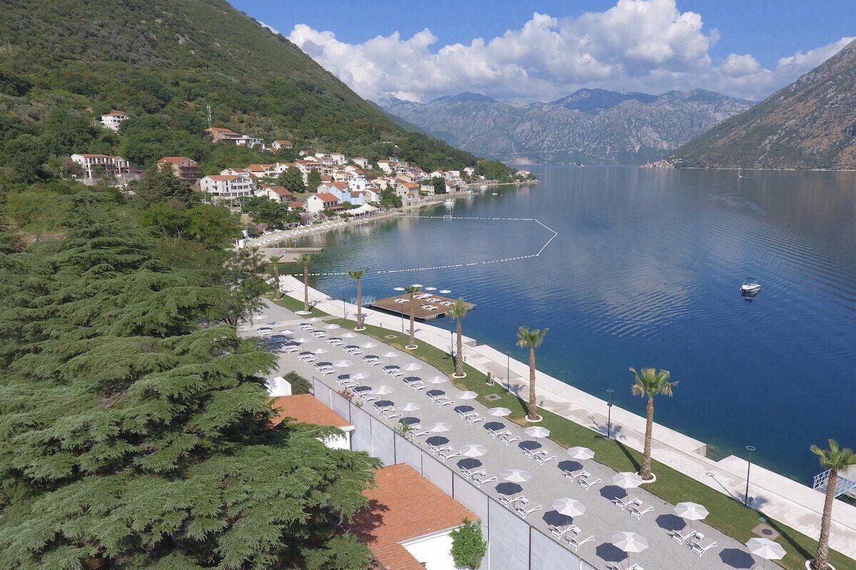 Gezondheidsvakanties in mediterraan Montenegro in het luxe Blue Kotor Bay Spa Resort.