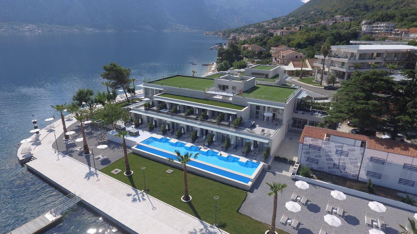 Kuren en genieten van wellness in het luxe 5* Blue Kotor Bay Spa Resort aan de adembenemend mooie baai van Kotor in Montenegro.
