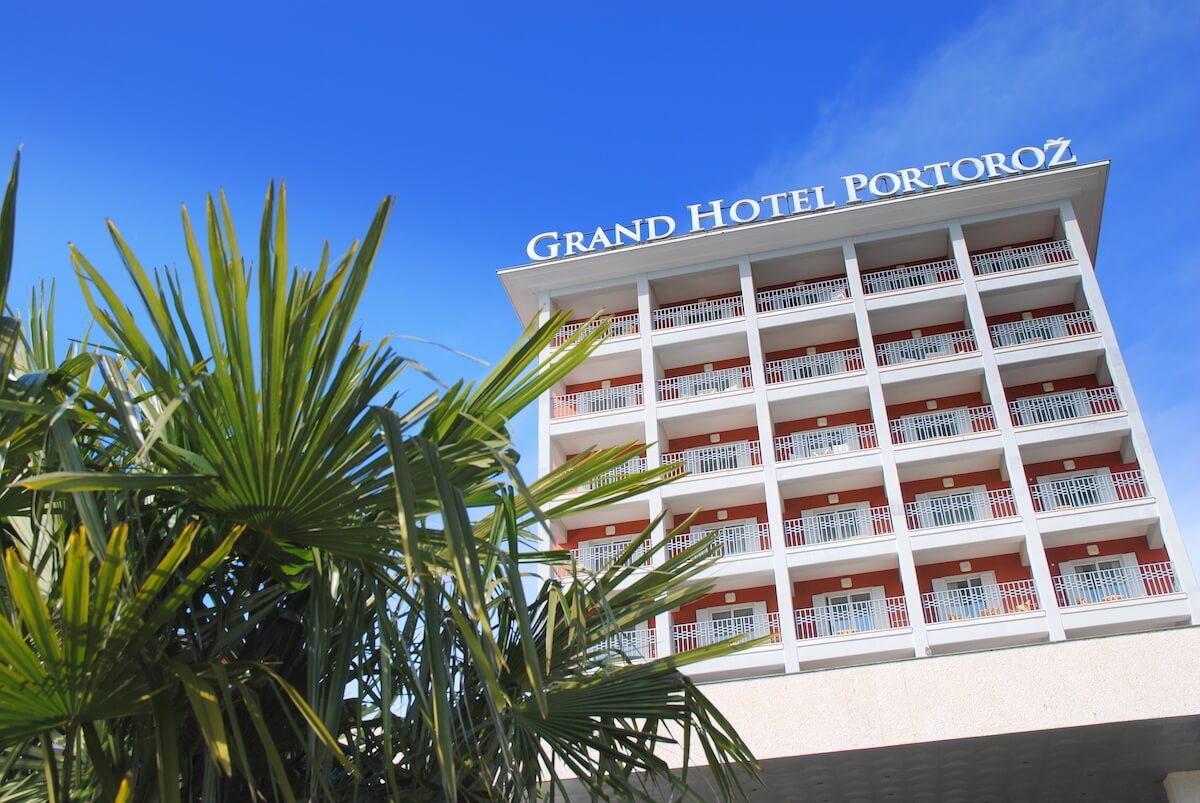 Facade Grand LifeClass Terme Portoroz