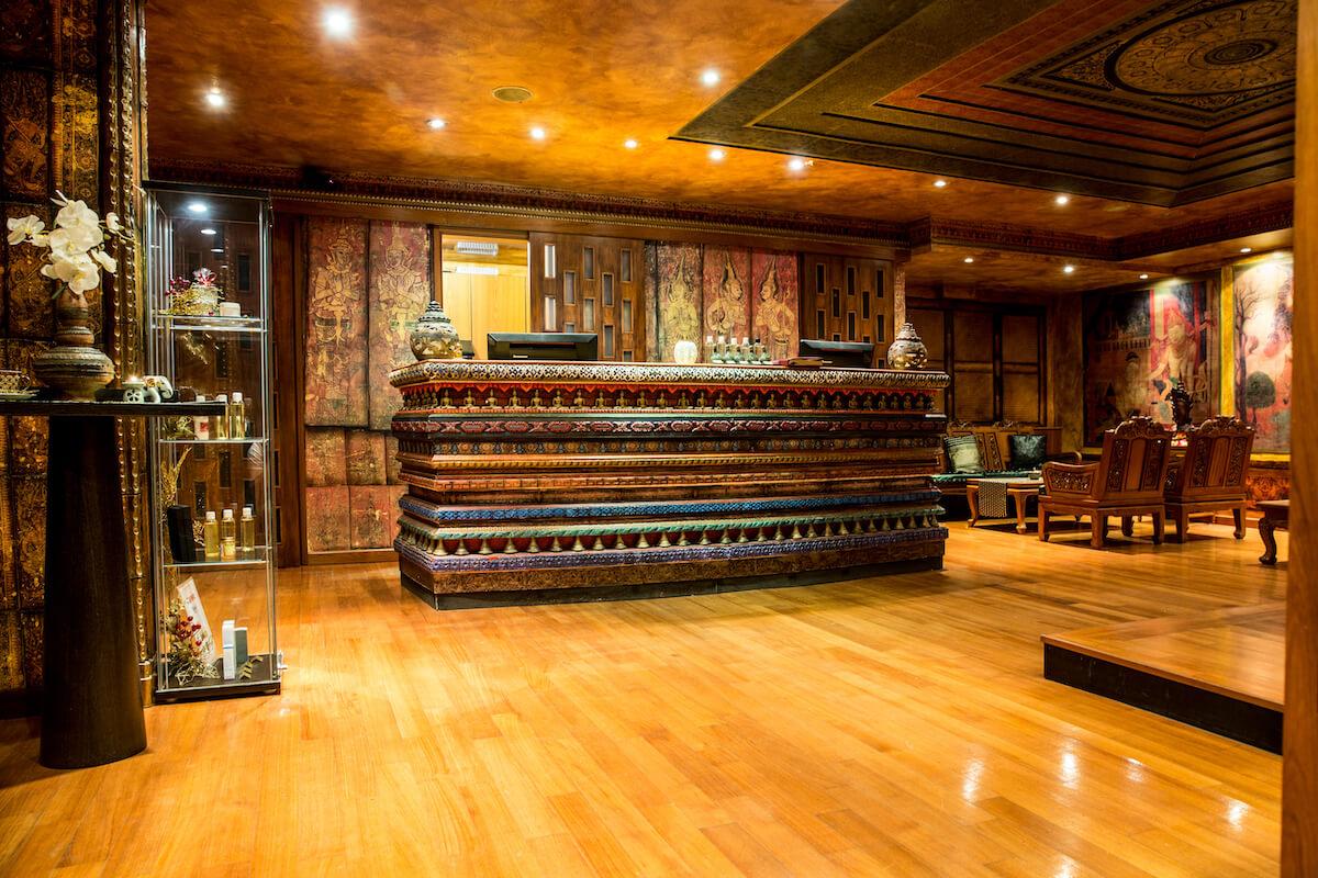 Receptie Wai Thai centrum Terme Portoroz (Grand LifeClass Terme Portoroz)