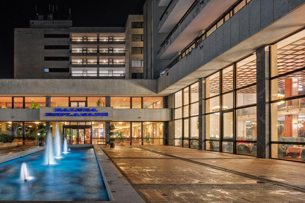 Esplanade Health Spa Resort 's avonds