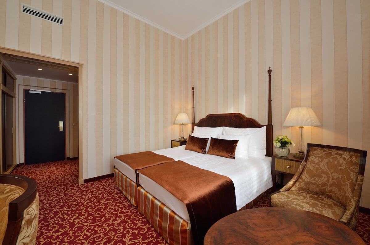 Deluxe kamer Grand Hotel Margitsziget Health Spa Resort.