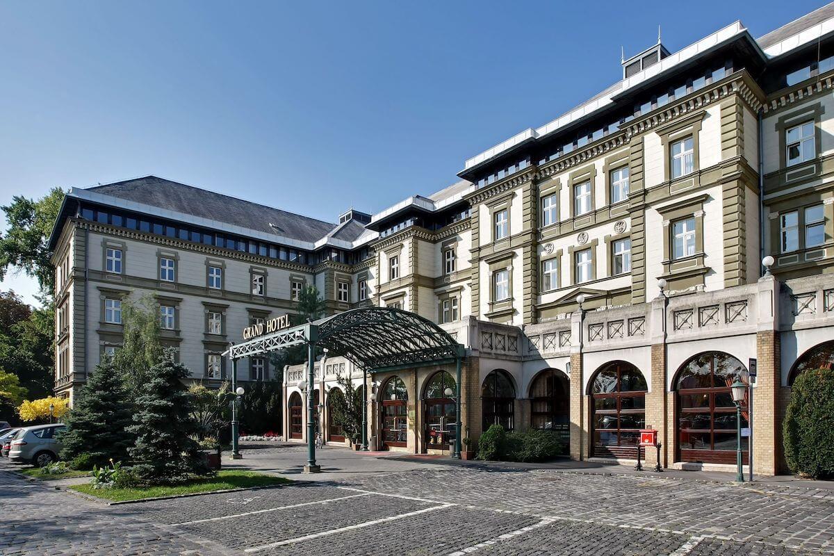 Ensana Grand Hotel Margitsziget Health Spa Resort in Boedapest.