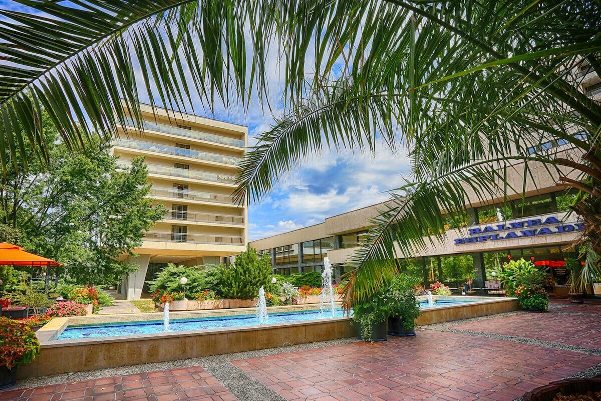 Esplanade Health Spa Resort buitenkant