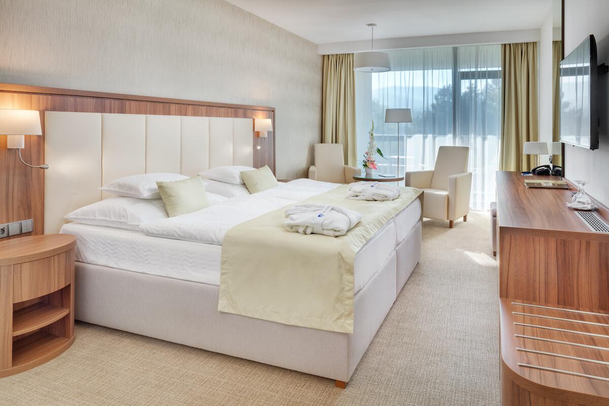 Premium kamer Esplanade Health Spa Resort in het Slowaakse kuuroord Piestany