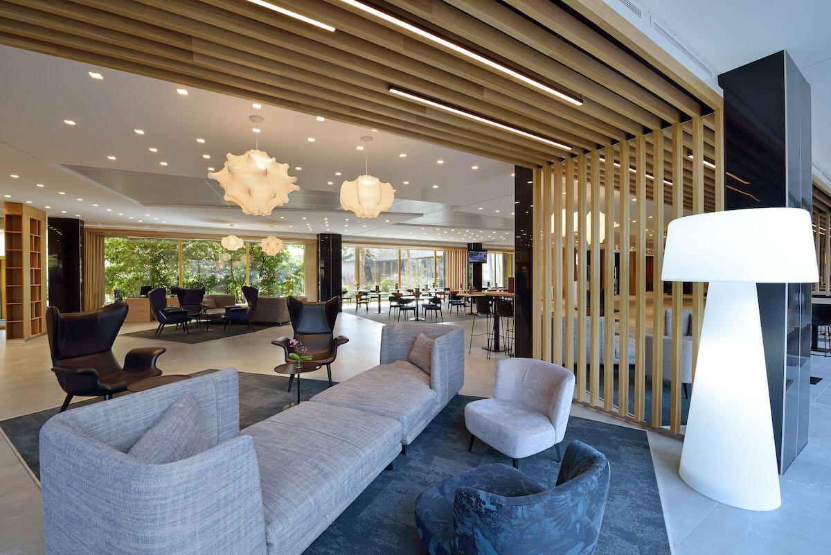 Lobby Thermal Hotel Margitsziget Health Spa Resort Boedapest.