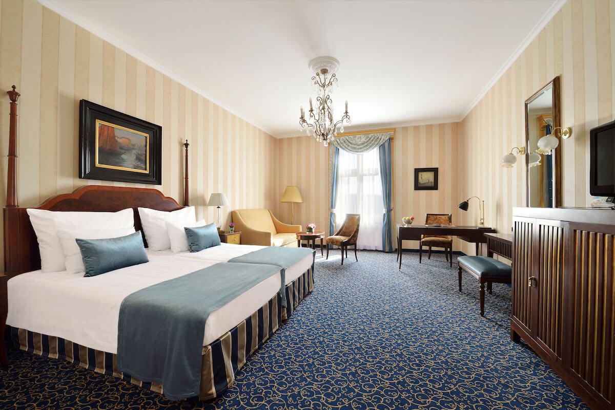 Deluxe plus kamer Grand Hotel Margitsziget Health Spa Resort.