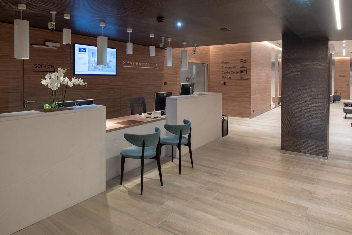 Spa receptie van Margitsziget Health Spa Spa Resort in Boedapest