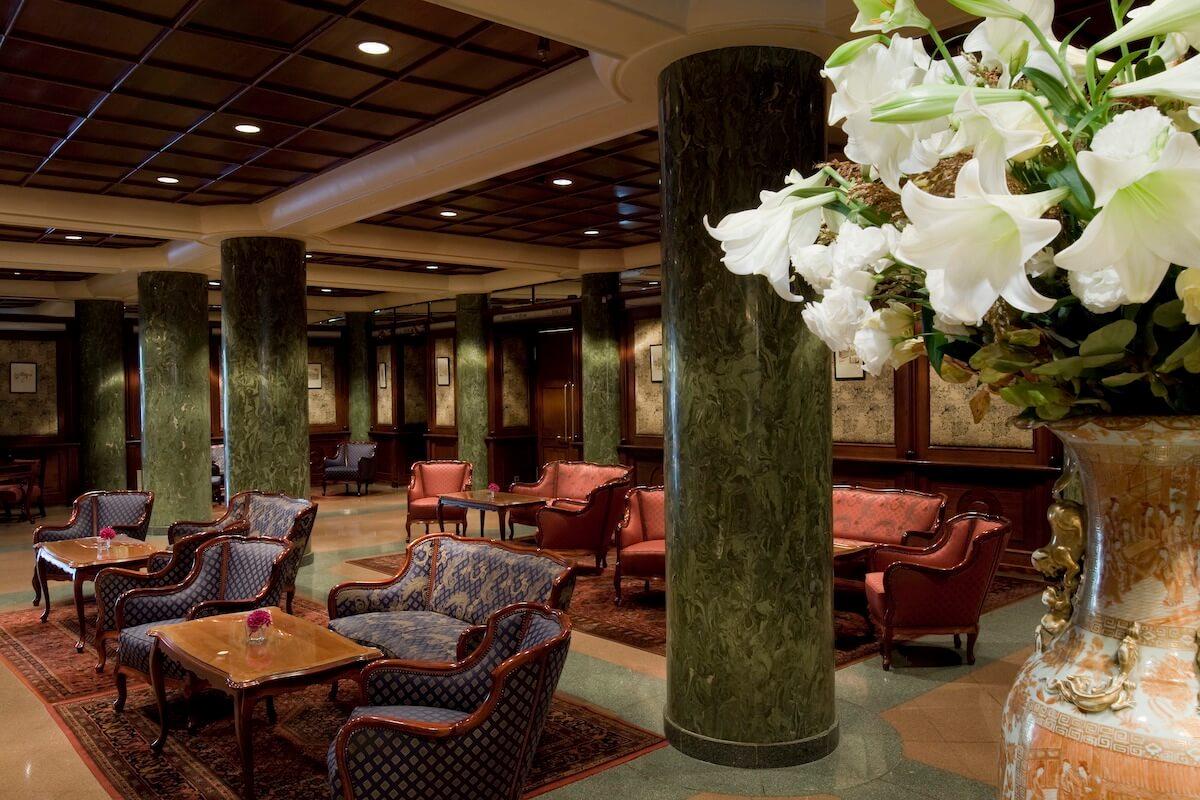 Lobby Grand Hotel Margitsziget Health Spa Resort in Boedapest