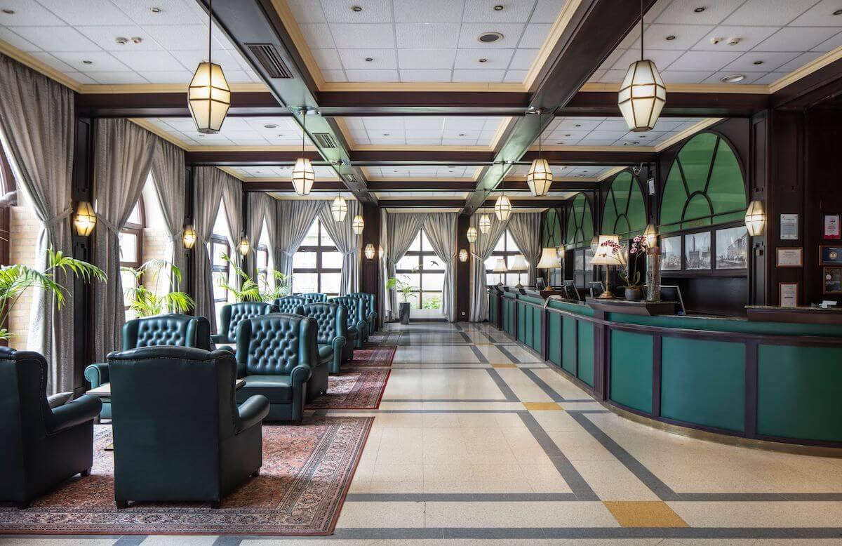 Receptie Ensana Grand Hotel Margitsziget Health Spa Resort