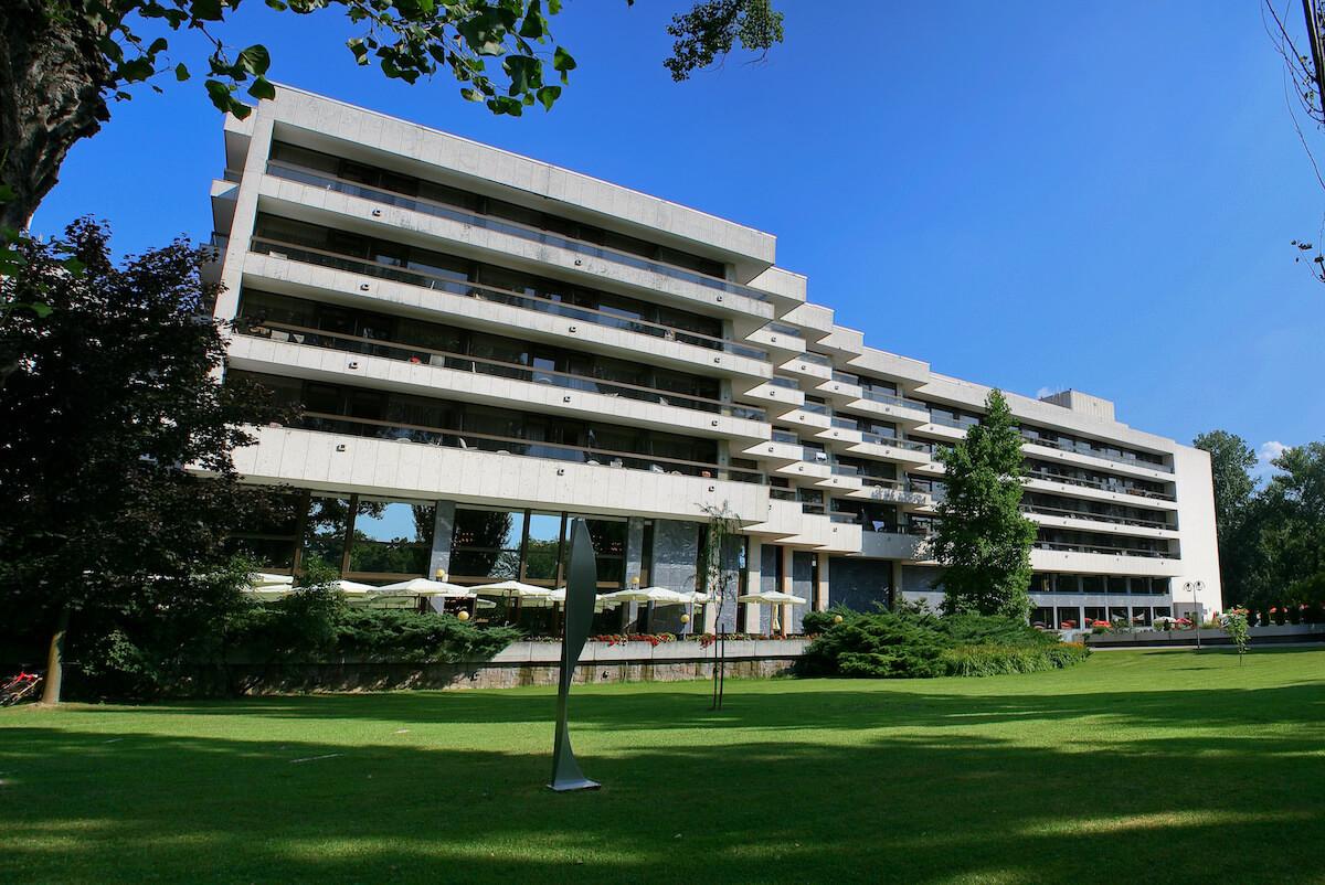 Esplanade Health Spa Resort in het Slowaakse kuuroord Piestany