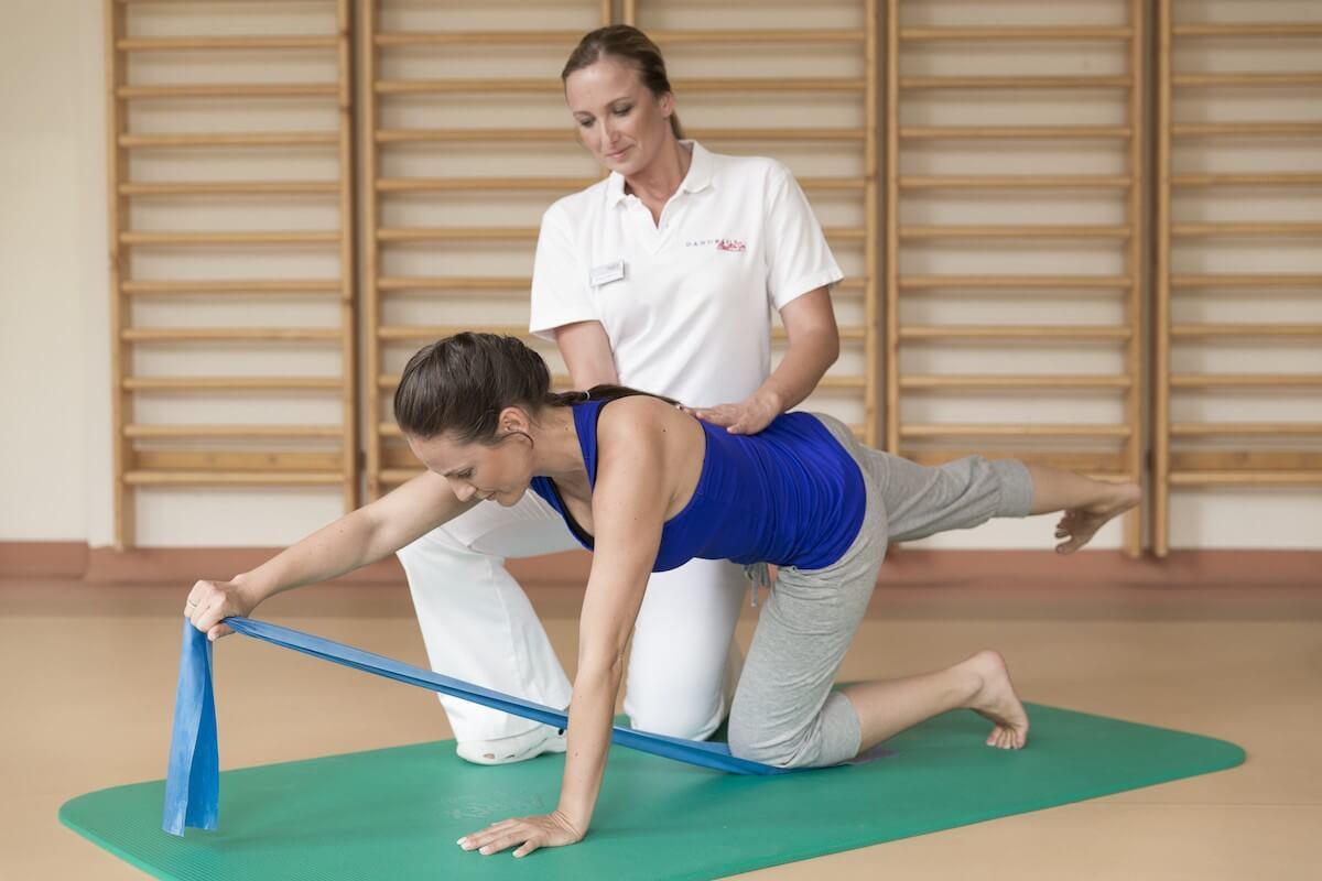 Fysiotherapie in kuuroord Margitsziget Health Spa Resort in Boedapest.