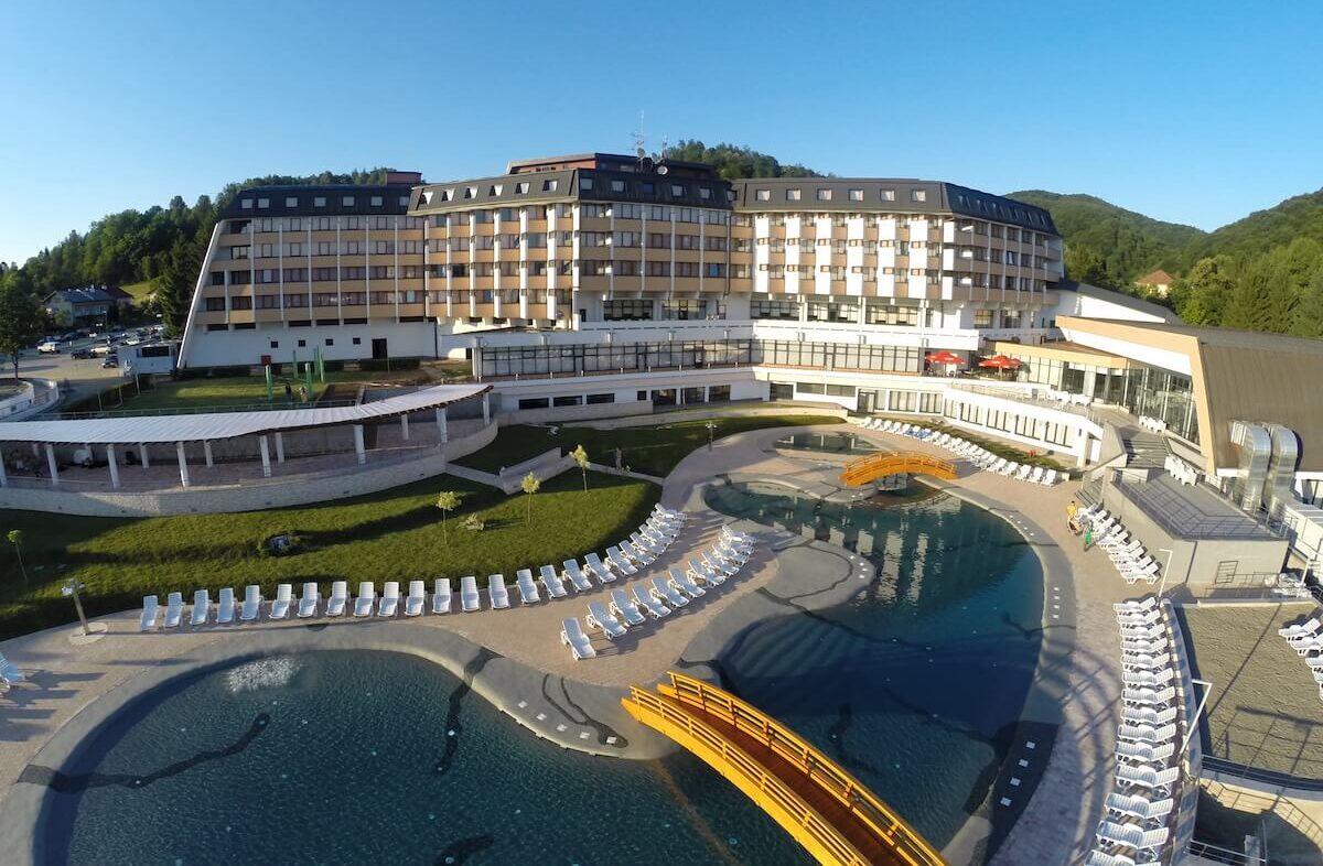 Kuurreizen naar het Bosnische spa hotel Kardinaal in Terme Banja Vrucica