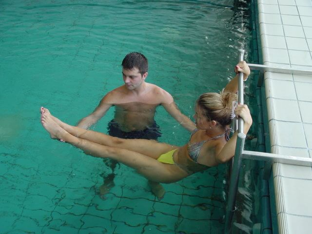 Oefentherapie in water in Igalo Health Spa Resort