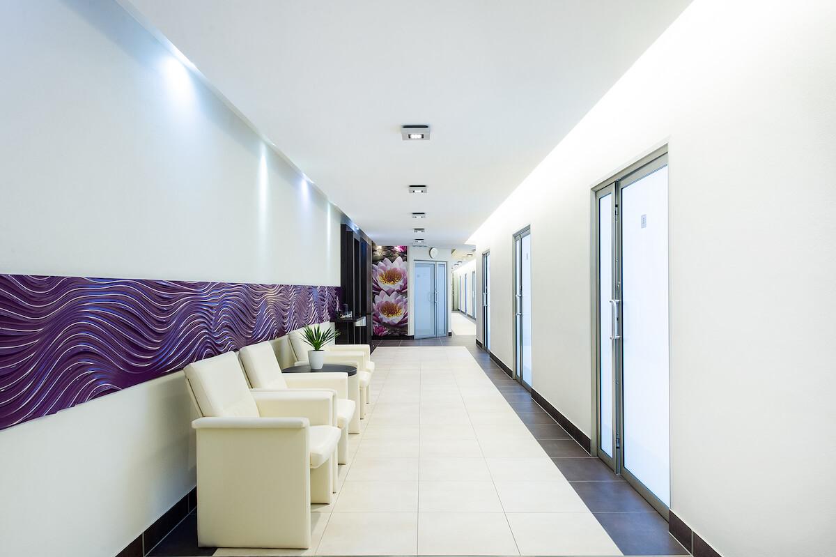 Behandelruimtes Balnea Health Spa: kuurkliniek van Esplanade Health Spa Resort en Splendid Health Spa Resort