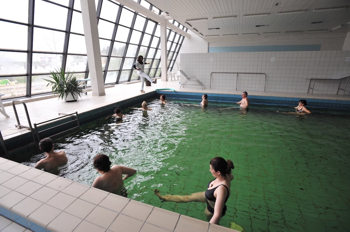 Oefenbad in Igalo Health Spa Resort
