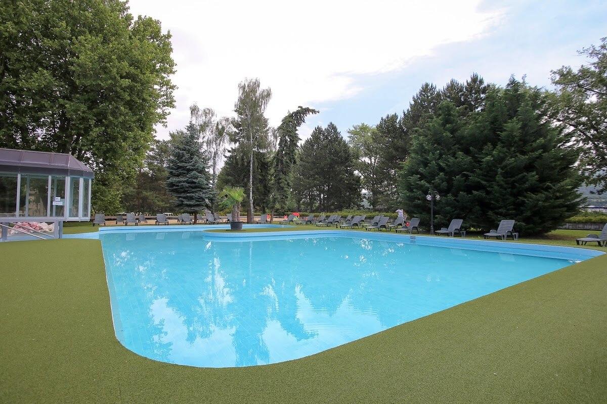 Buitenbad Splendid Health Spa Resort