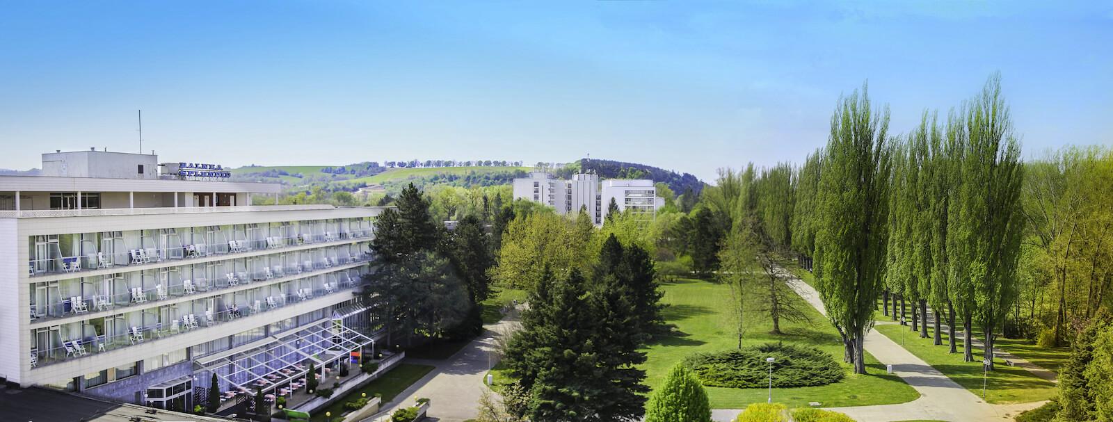 Splendid Health Spa Resort in het Slowaakse kuuroord Piestany