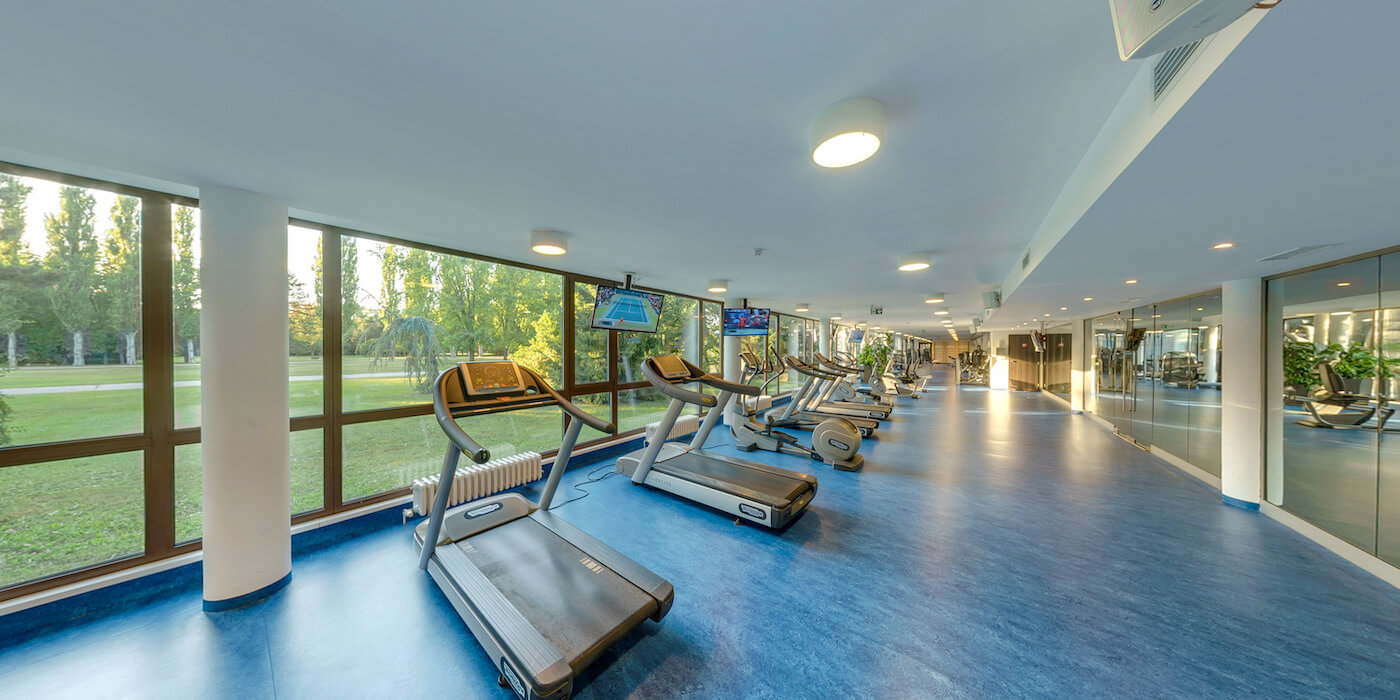 Premier Fitness in Balnea Health Spa: kuurkliniek van Esplanade Health Spa Resort en Splendid Health Spa Resort