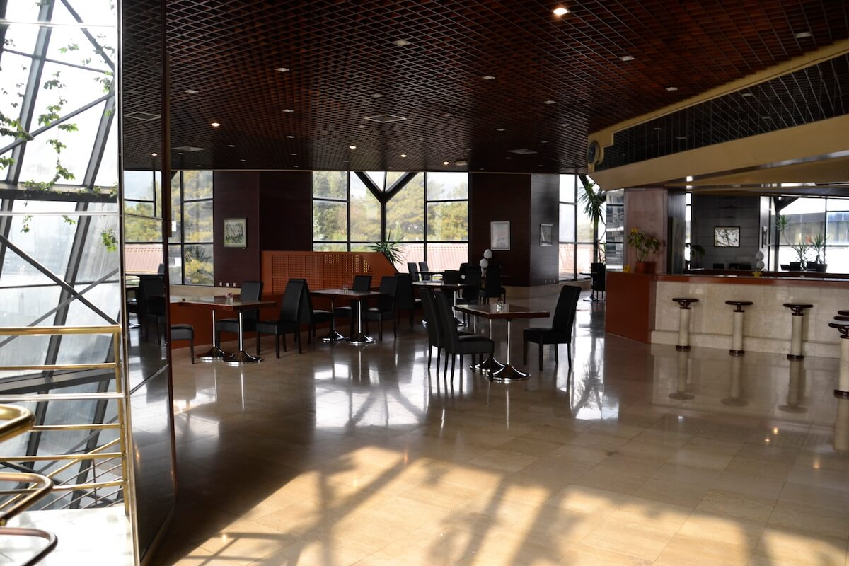 Panorama bar in Igalo Health Spa Resort