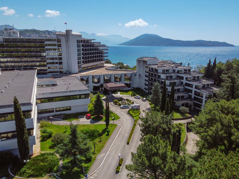 Igalo Health Spa Resort aan de baai van Kotor