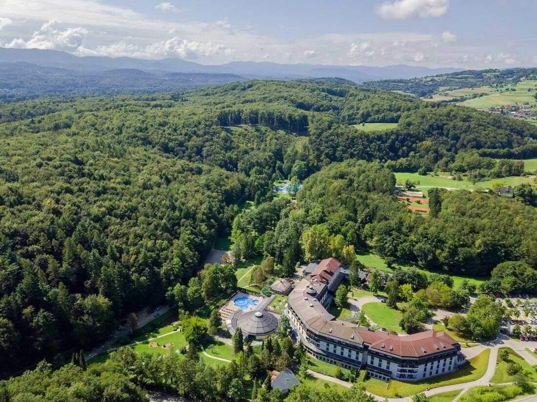 Gezondheidsvakanties naar het Sloveense spa resort Terme Smarjeske Toplice voor gezond en verantwoord afslanken, detoxen, ontstressen, meer vitaliteit en genieten van wellness.