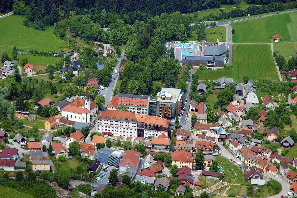 Gezondheidsvakanties naar het Sloveense spa resort Terme Dolenjske Toplice.