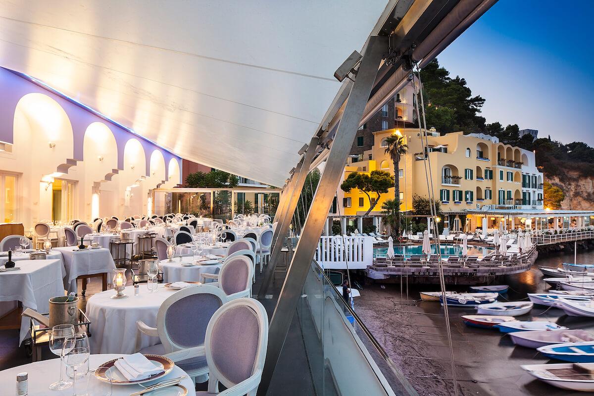 Dolcevita restaurant Regina Isabella Spa Resort