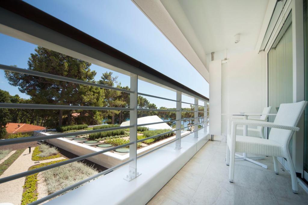 Balkon superior kamer Bellevue Spa Resort