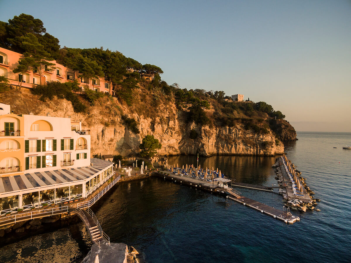 Gezondheidsvakanties naar Isabella Regina Spa Resort op Ischia eiland in Italië
