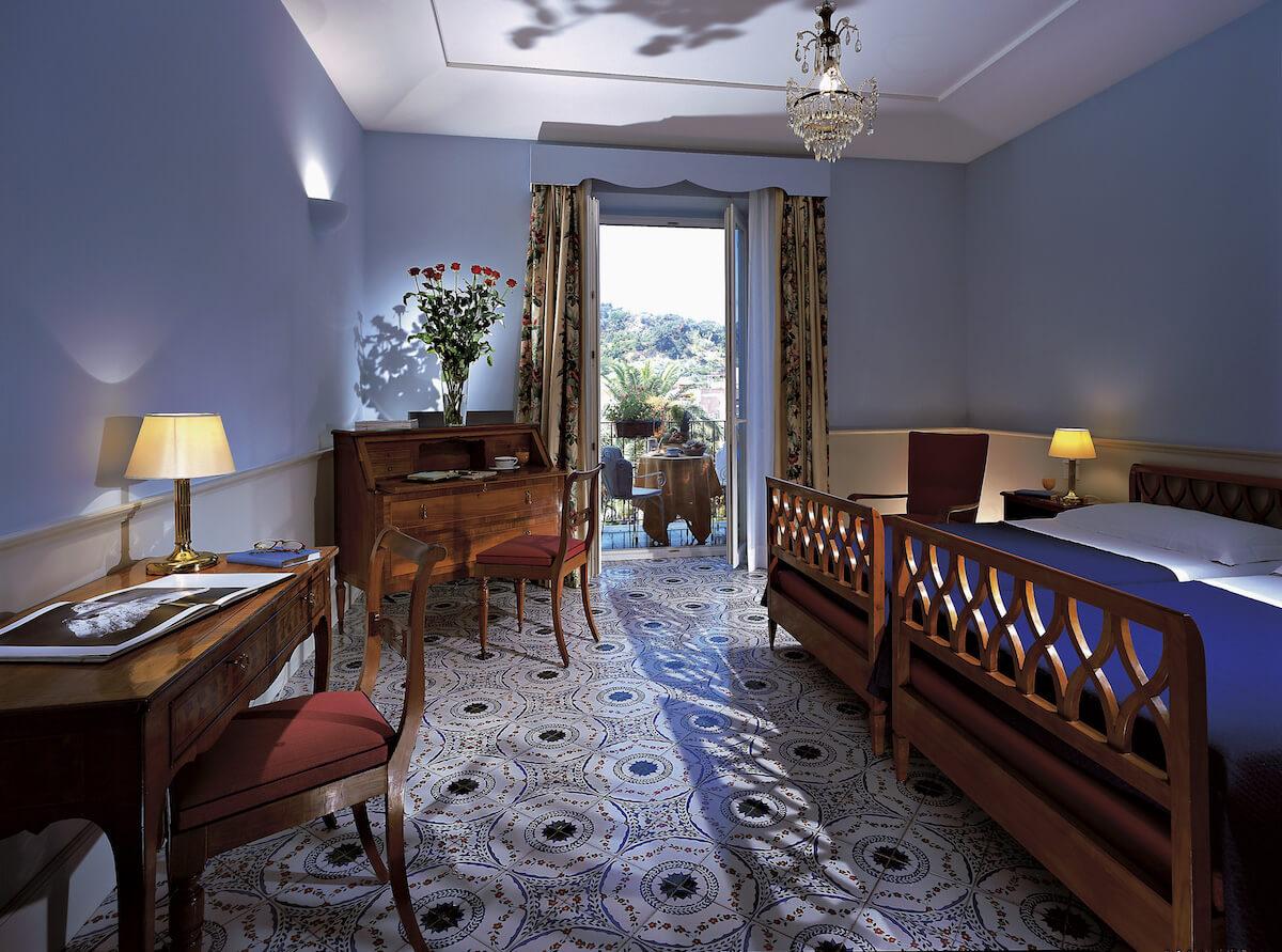 2-persoonskamer met balkon tuinzicht Regina Isabella Spa Resort (Ischia, Italië)