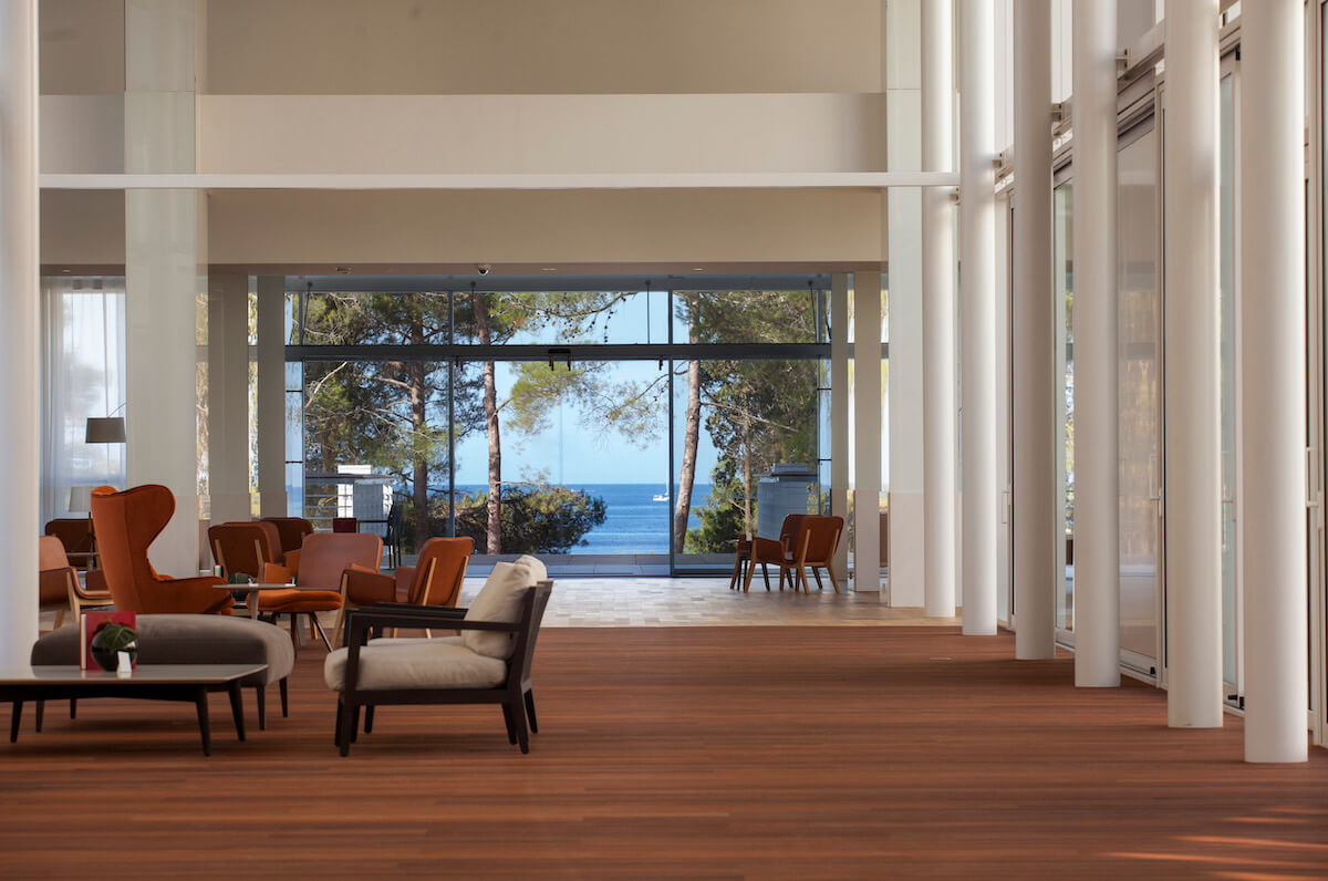 Lobby Bellevue Spa Hotel