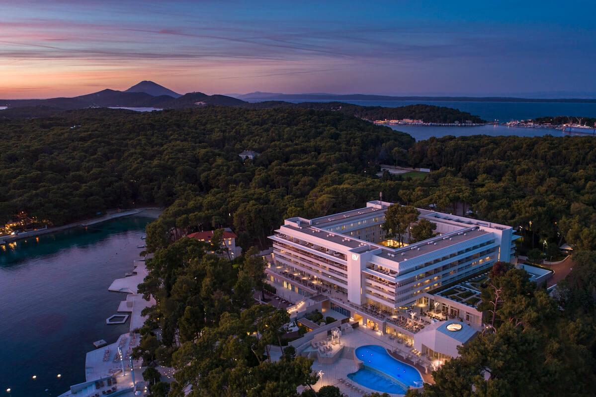 Bellevue Spa Resort op het Kroatische Losinj eiland