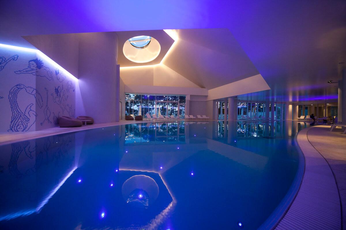 Bellevue Spa binnenbad met zeewater
