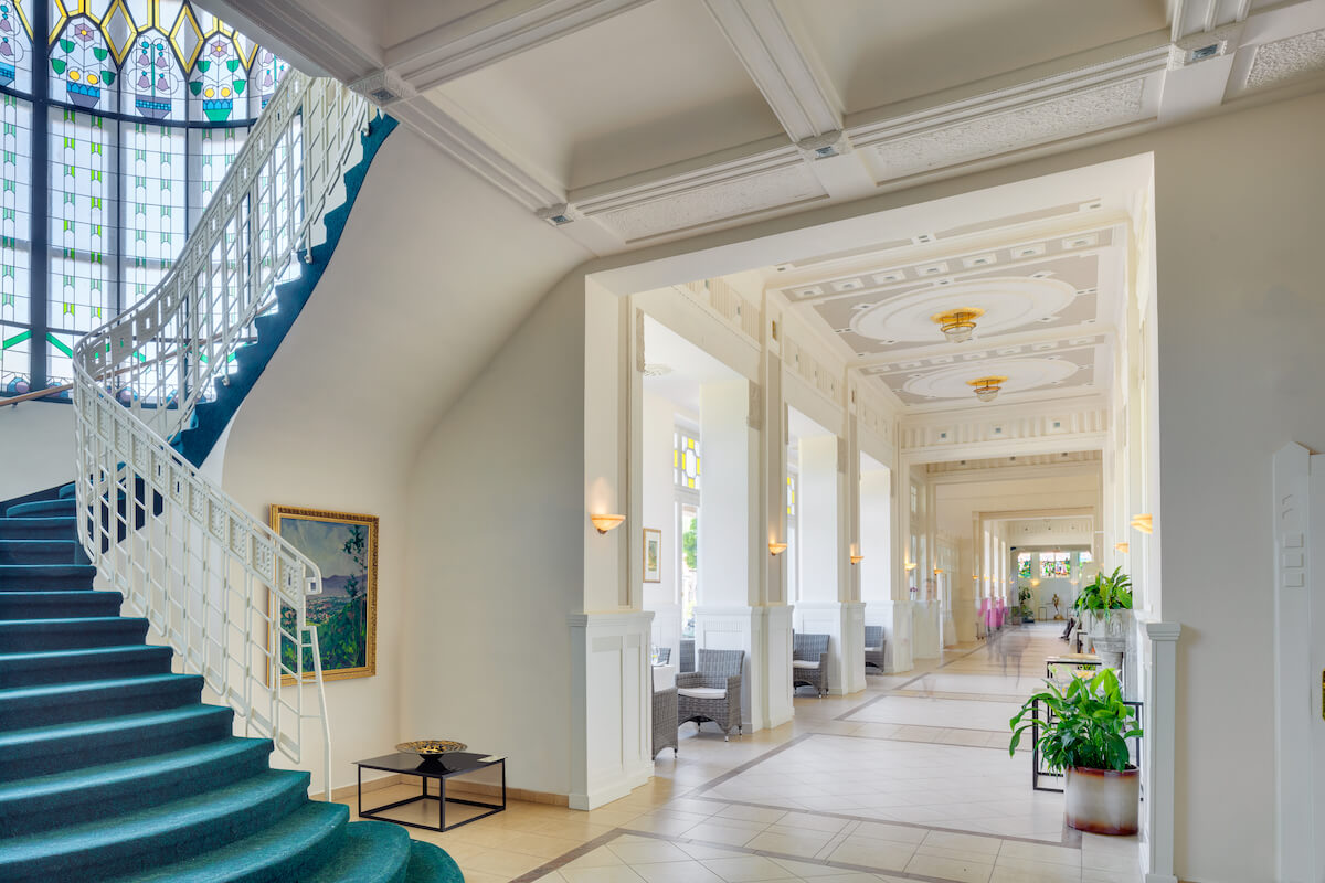 Corridor Thermia Palace Health Spa Resort naar Irma Health Spa