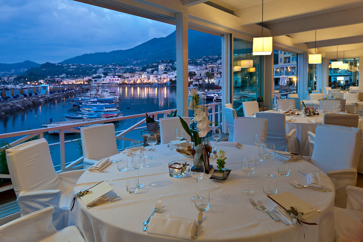 Indaco restaurant Regina Isabella Spa Resort
