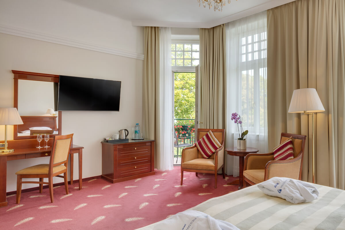 Deluxe kamer Thermia Palace Health Spa Resort