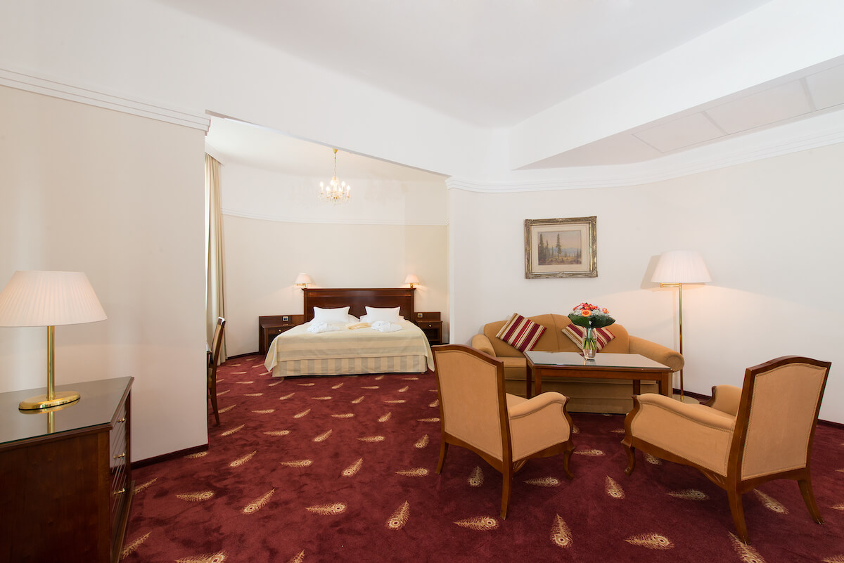 Suite in Thermia Palace Health Spa Resort
