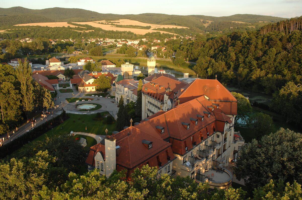 Thermia Palace Health Spa Resort in het Slowaakse kuuroord Piestany.